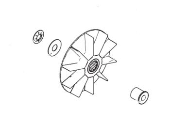 Ventilador de Motor Graco 390