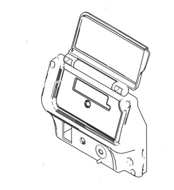 Cubierta de Tarjeta Electrónica Graco 695