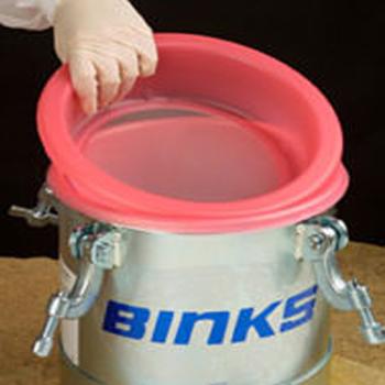 Coladores de tanque y taza Binks