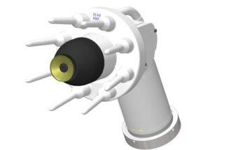 Atomizadores rotativos montados en robot RMA / MMA de Ransburg