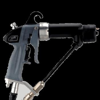 Pistola de pulverización electrostática sin aire asistida por aire Ransburg Vector AA90