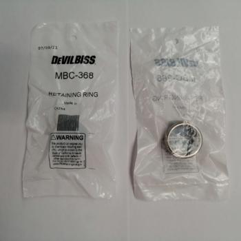 DEVILBISS MBC 368 RETAINING RING